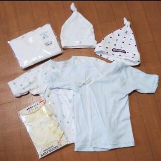 コンビミニ(Combi mini)の新品あり/新生児/肌着/帽子/靴下/小物セット(肌着/下着)