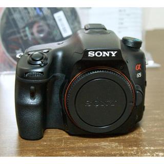 SONY - SONY α65 SLT-A65V ボディ 8500ショット!