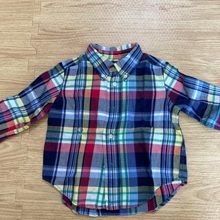 ラルフローレン(Ralph Lauren)のラルフローレン チェックシャツ 12M(シャツ/カットソー)