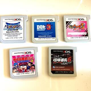 ニンテンドー3DS(ニンテンドー3DS)の桃鉄、DQM3他 3DS(携帯用ゲームソフト)