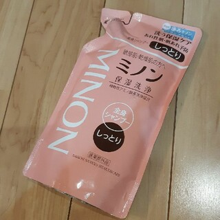 MINON - 新品 ミノン 全身シャンプー しっとりタイプ 380ml つめかえ用 ボディ