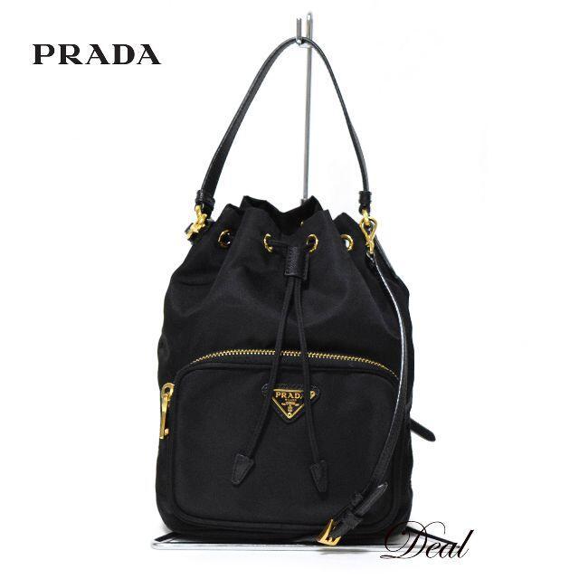 PRADA(プラダ)の【SALE】プラダ 巾着 ショルダーバッグ 2way ミニバッグ 1NE864 レディースのバッグ(ショルダーバッグ)の商品写真