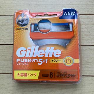 ジレット フュージョン5+1 マニュアル 髭剃り カミソリ  替刃8個入