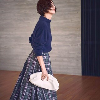 Apuweiser-riche - カデュネ チェック スカート