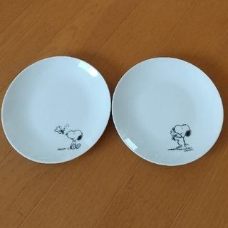 SNOOPY - スヌーピーのお皿   2枚