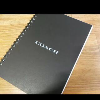コーチ(COACH)の新品 COACH コーチ ノベルティ スケッチブック ノート バスキア(ノベルティグッズ)