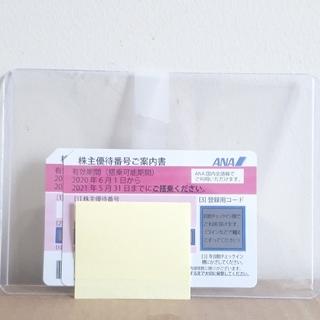 エーエヌエー(ゼンニッポンクウユ)(ANA(全日本空輸))のANA株主優待券 2枚  有効期限:2021年11月30日(その他)