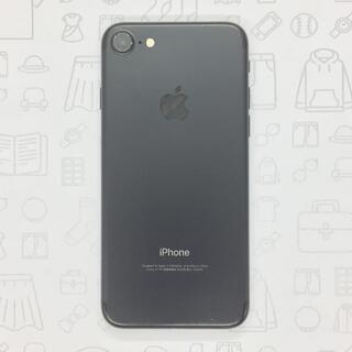 アイフォーン(iPhone)の【B】iPhone 7/32GB/355339086288126(スマートフォン本体)