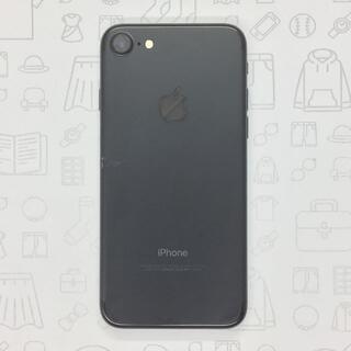 アイフォーン(iPhone)の【B】iPhone 7/32GB/355849081171416(スマートフォン本体)
