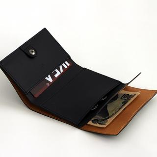 エムピウ(m+)の【エムピウ】m+ ストラッチョ スペリオーレ ブラック(折り財布)