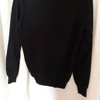 ユナイテッドアローズ(UNITED ARROWS)のUNITED ARROWS Vネック ニット 長袖 セーター黒 ブラック (ニット/セーター)