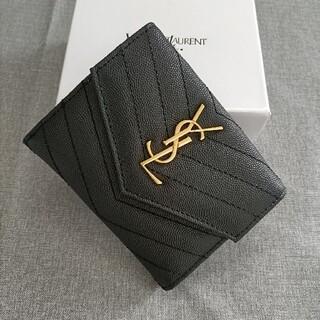 Yves Saint Laurent Beaute - 即発♥三つ折り財布 サンローラン♥小銭入れ