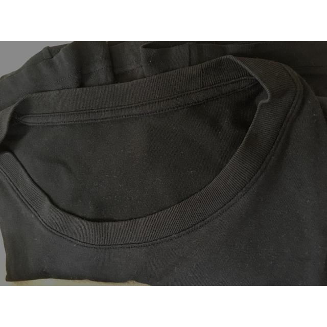 UNIQLO(ユニクロ)のUNIQLO  半袖 クルーネックTシャツ ブラック 2枚セット メンズのトップス(Tシャツ/カットソー(半袖/袖なし))の商品写真