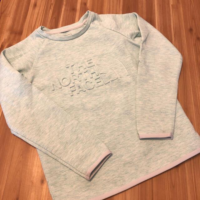 THE NORTH FACE(ザノースフェイス)のザノースフェイス キッズ テックエアー スエット トレーナー キッズ/ベビー/マタニティのキッズ服男の子用(90cm~)(Tシャツ/カットソー)の商品写真