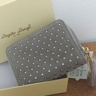 レガートラルゴ(Legato Largo)の楽直さま専用★Legato Largo 本革 二つ折り財布 ライトグレー(財布)