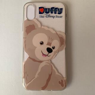 ダッフィー - 香港ディズニーランドで購入したダッフィーiPhoneX携帯ケース