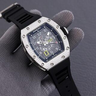 エムシックスティーン(M16)のリシャールミル RM030 メンズ 腕時計 自動巻き(その他)