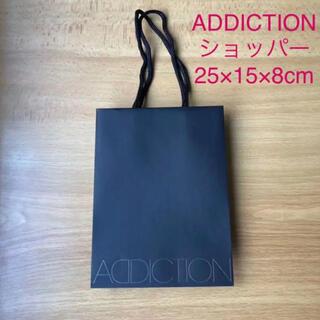 アディクション(ADDICTION)のADDICTION アディクション ショッパー ショップ袋 紙袋(ショップ袋)