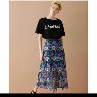 Diagram  グレースコンチネンタル 刺繍 スカート