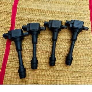 ニッサン(日産)のQRエンジン用中古イグニッションコイル4本セット 22448-8H315(車種別パーツ)