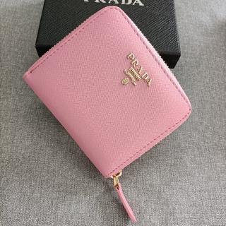 PRADA - 大人気♥二つ折り財布 プラダ♥小銭入れ ピンク