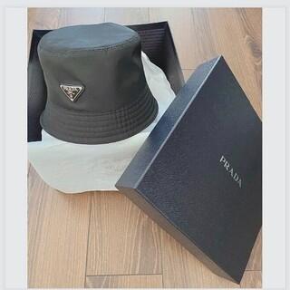 PRADA - prada バケットハット 帽子