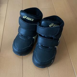 asics - 13cm 黒 ベビーブーツ