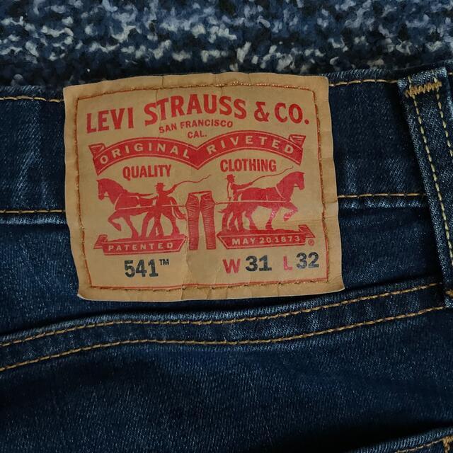 Levi's(リーバイス)のリーバイス541 インディゴブルー メンズのパンツ(デニム/ジーンズ)の商品写真