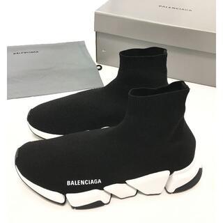 Balenciaga - 新品 BALENCIAGA SPEED 2.0 ロゴ ソックス スニーカー