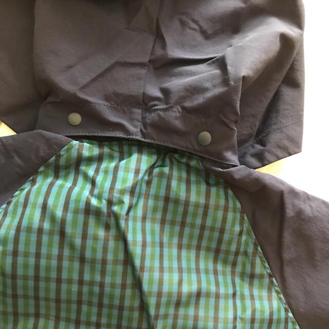 familiar(ファミリア)のファミリア  ナイロンパーカー 120  未使用 値下げ キッズ/ベビー/マタニティのキッズ服男の子用(90cm~)(ジャケット/上着)の商品写真