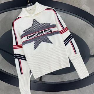 ディオール(Dior)のDior アルプス 星 スタンドカラー セーター カシミア (ニット/セーター)