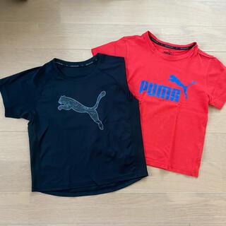 プーマ(PUMA)のPUMA Tシャツ 2枚セット 130サイズ(Tシャツ/カットソー)