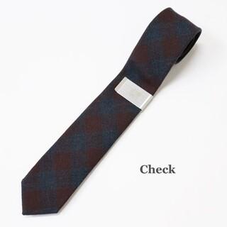 DAIRIKU Wool Tie with Money Clip dairiku
