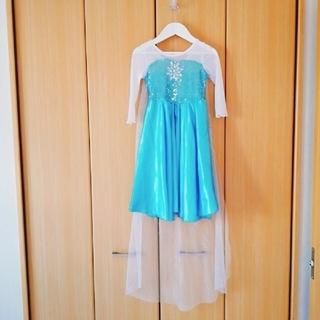 エルサ アナと雪の女王 ドレス 100 おまけ付き(ドレス/フォーマル)