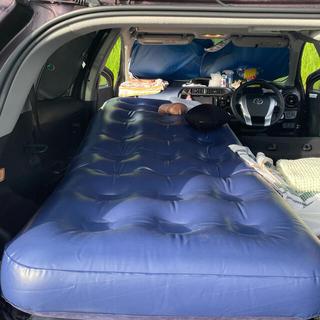 【極美品】エアーマットレス シングルサイズ 車中泊にも(簡易ベッド/折りたたみベッド)