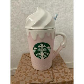 Starbucks Coffee - ★ 新品★ ロゴ クリーム マグ スターバックス 韓国 スタバ