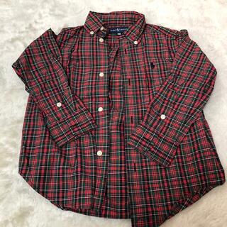 ポロラルフローレン(POLO RALPH LAUREN)のラルフローレン 長袖シャツ 100(ブラウス)