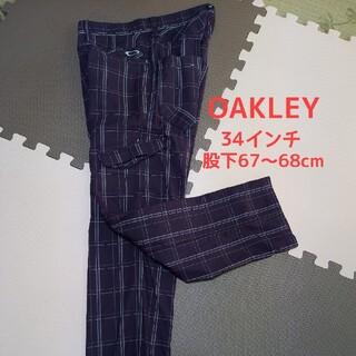 オークリー(Oakley)のOAKLEYゴルフパンツ 34インチ 股下67~68cm(ウエア)