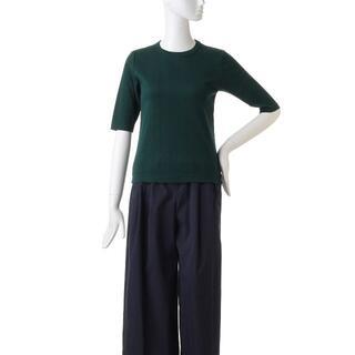 ENFOLD - タグ付・ENFOLDのランダムテレコ5分袖Tシャツ