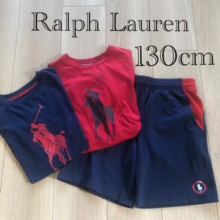 POLO RALPH LAUREN - Ralph Lauren  Tシャツ&ショートパンツセット130cm