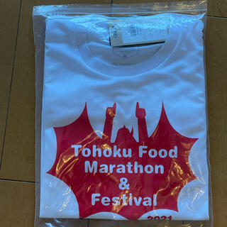 Tシャツ 東北風土マラソン2021 ランニング