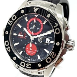 タグホイヤー(TAG Heuer)のタグホイヤー CAJ2113 AIR-K1アクアレーサー 錦織圭モデル 腕時計(腕時計(アナログ))
