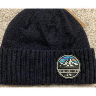 patagonia - パタゴニア ニット帽 ネイビー タグ付き