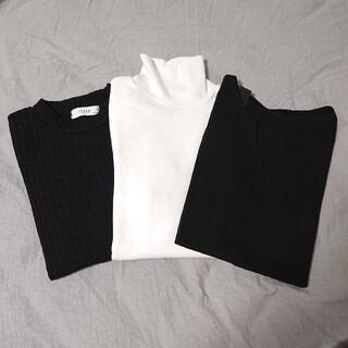 ディーホリック(dholic)のDHOLIC❤️すぐ使えるシンプルカットソー 3点(Tシャツ(長袖/七分))