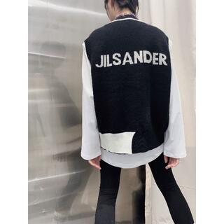 Jil Sander - 男女兼用 JIL SANDER ニットベストジャケット Jil Sander