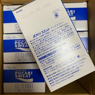 大塚製薬 - ポカリスエット アイススラリー 1箱6個入り×6箱 36個