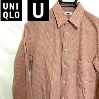 UNIQLO - UNIQLO U ストライプレギュラーカラーシャツ