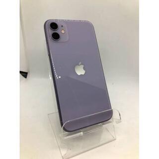 Apple - iPhone11 本体 64GB パープル Apple SIMフリー 送料無料
