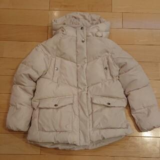 ザラキッズ(ZARA KIDS)のZARA  140 中綿コート  オフホワイト(コート)