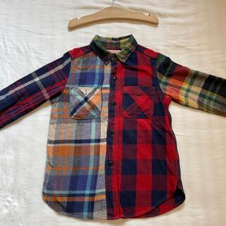 デニムダンガリー(DENIM DUNGAREE)のキッズネルシャツ #DENIMDUNGAREE(ジャケット/上着)